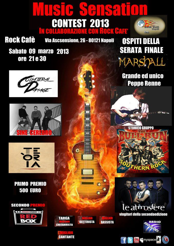 "Al via il ""Music Sensation Contest 2013″"